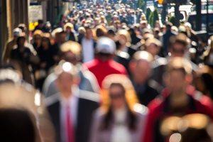 Crowd-People-Walking-Business-Blurry